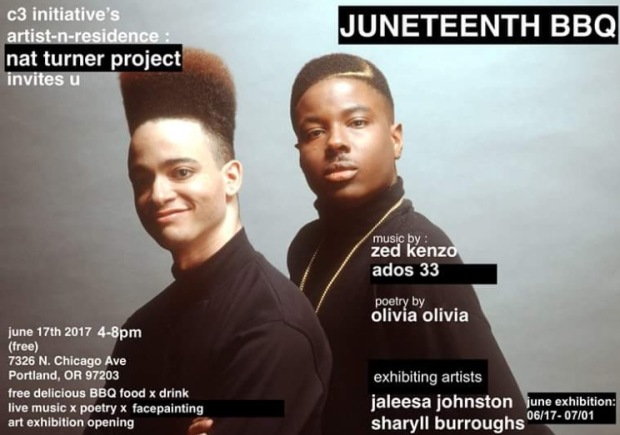 Juneteenth Show Announcement 2